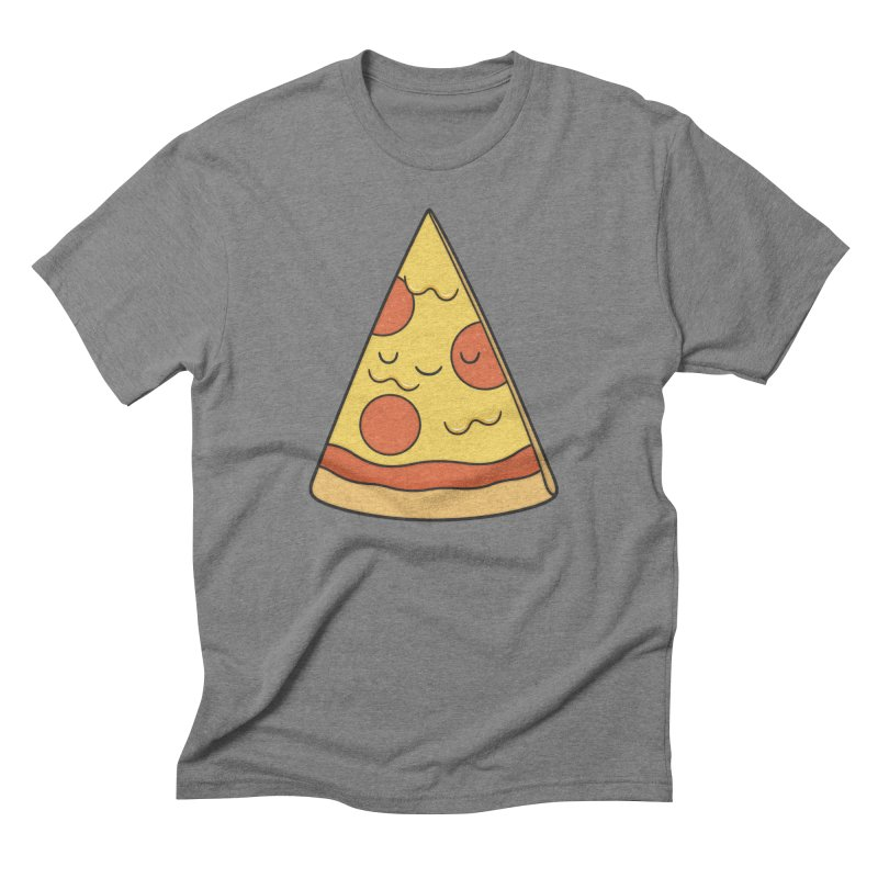 Pizza Men's Triblend T-Shirt by Kim Vervuurt
