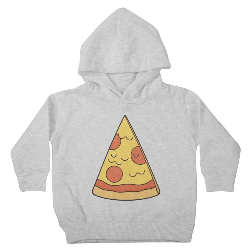 Pizza Kids Toddler Pullover Hoody by Kim Vervuurt