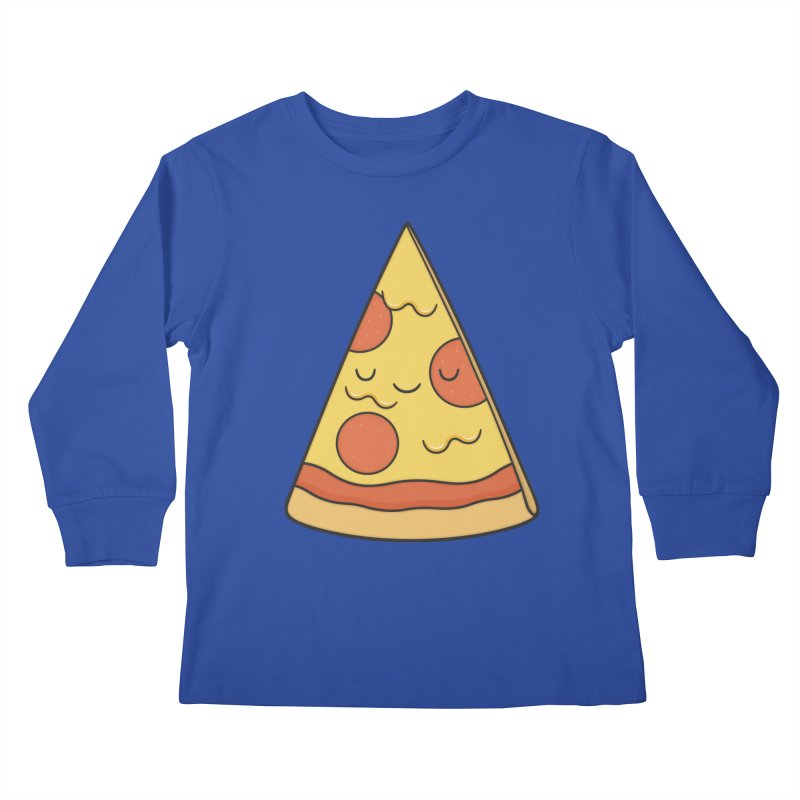Pizza Kids Longsleeve T-Shirt by Kim Vervuurt