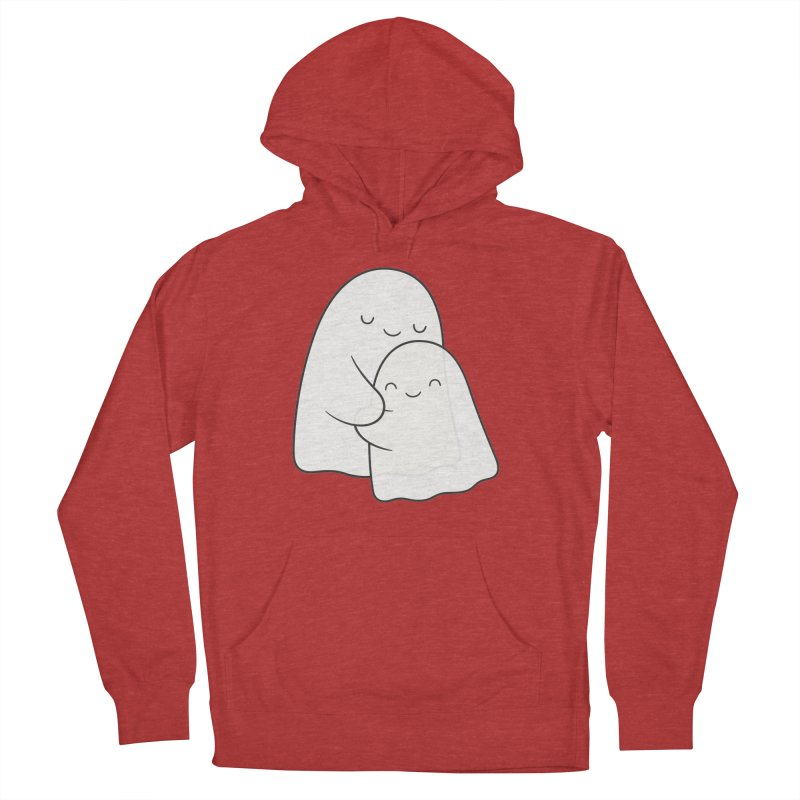 Soulmates Women's French Terry Pullover Hoody by Kim Vervuurt