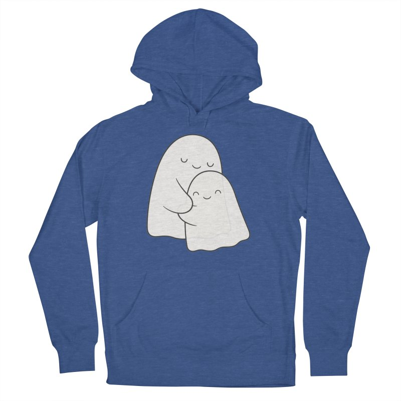 Soulmates Men's French Terry Pullover Hoody by Kim Vervuurt