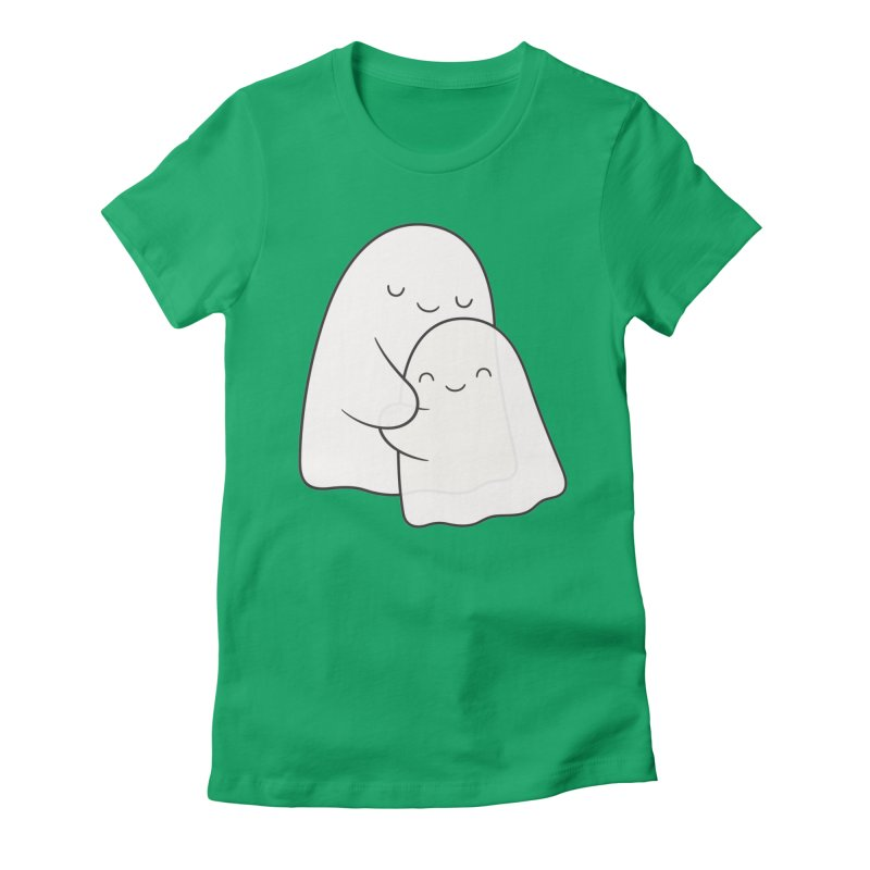 Soulmates Women's Fitted T-Shirt by Kim Vervuurt