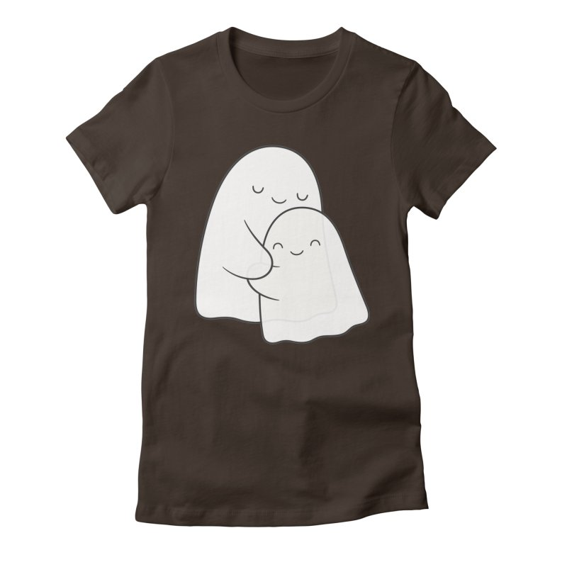 Soulmates Women's Fitted T-Shirt by Kim Vervuurt