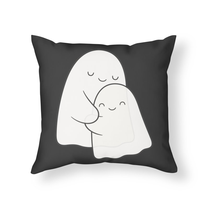 Soulmates Home Throw Pillow by Kim Vervuurt