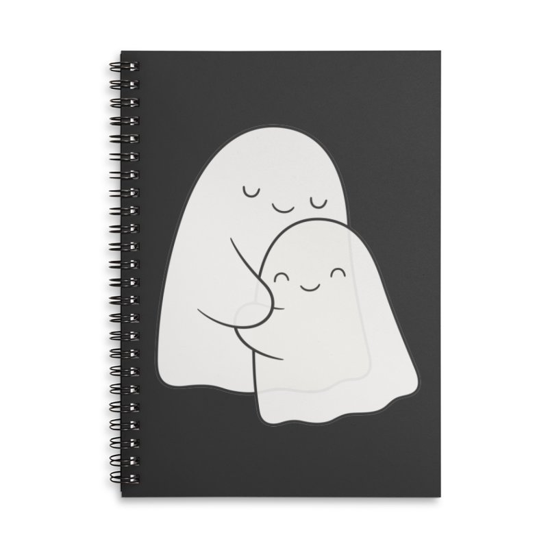 Soulmates Accessories Lined Spiral Notebook by Kim Vervuurt