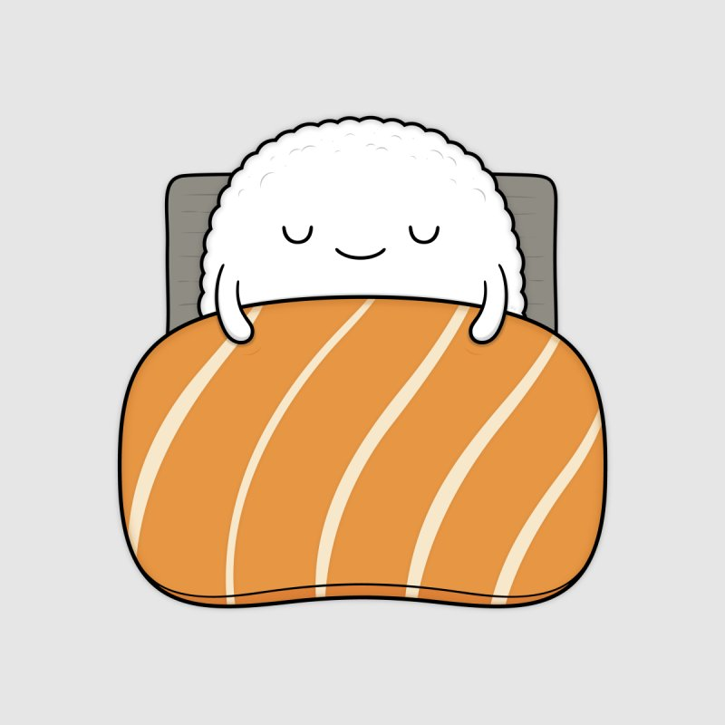 Sleepy Sushi Kids T-Shirt by Kim Vervuurt