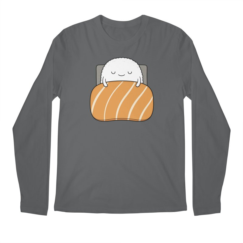 Sleepy Sushi Men's Longsleeve T-Shirt by Kim Vervuurt