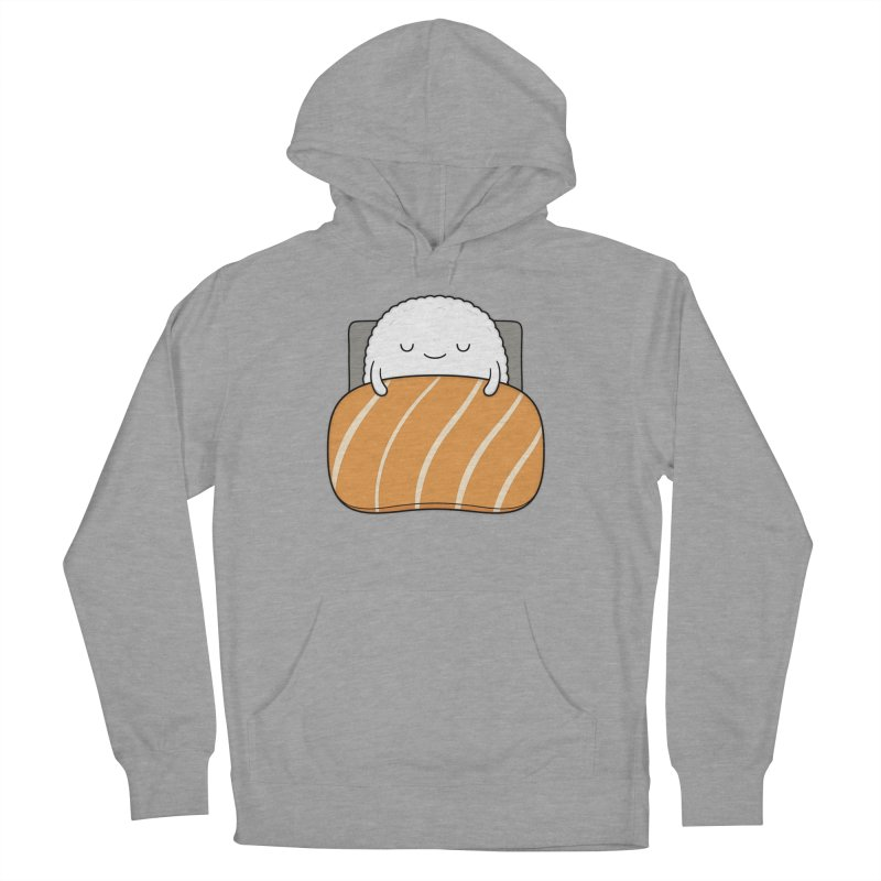 Sleepy Sushi Women's French Terry Pullover Hoody by Kim Vervuurt