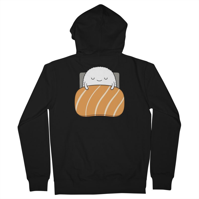 Sleepy Sushi Men's Zip-Up Hoody by Kim Vervuurt