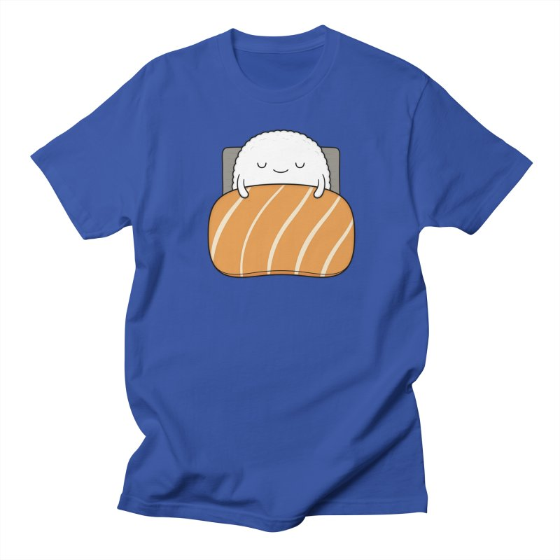 Sleepy Sushi Men's Regular T-Shirt by Kim Vervuurt