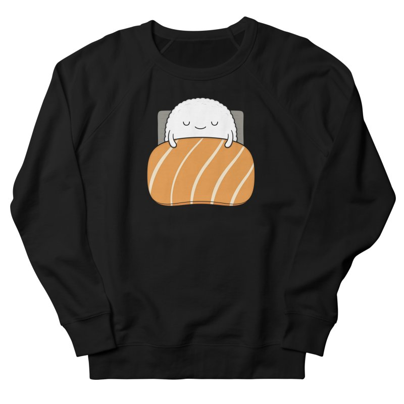 Sleepy Sushi Women's French Terry Sweatshirt by Kim Vervuurt