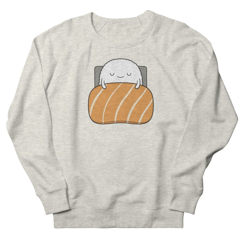 Sleepy Sushi Women's French Terry Sweatshirt by Kim Vervuurt
