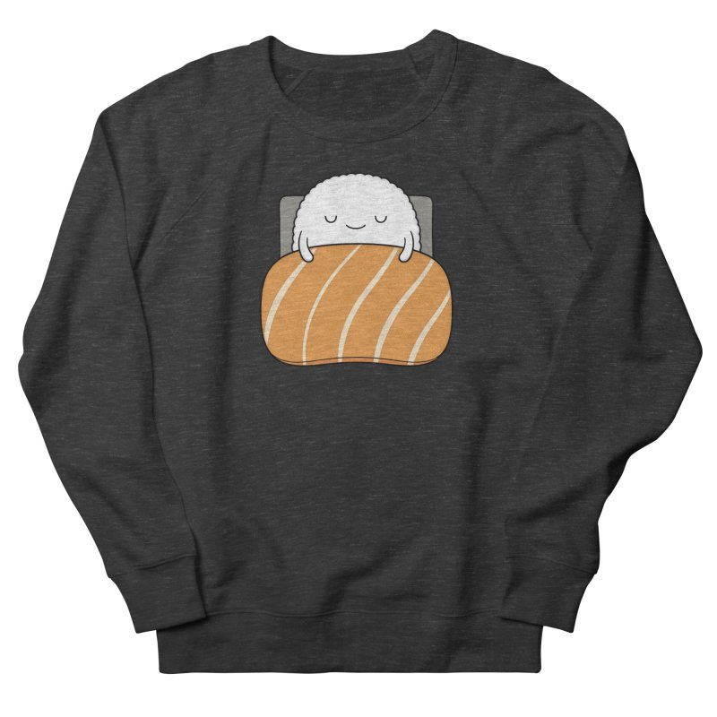 Sleepy Sushi Men's French Terry Sweatshirt by Kim Vervuurt
