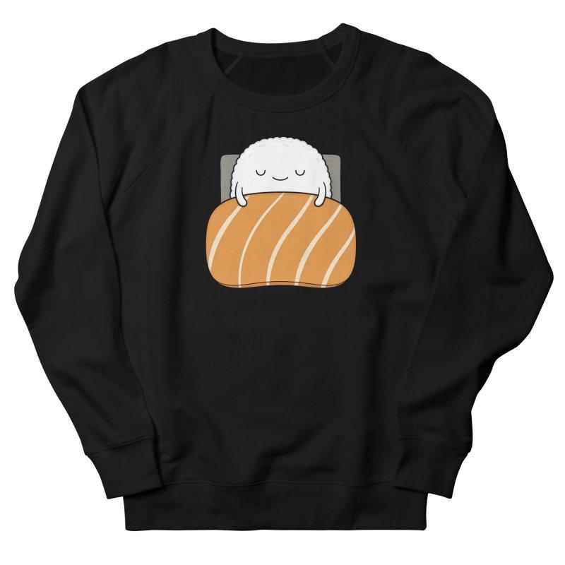 Sleepy Sushi Men's French Terry Sweatshirt by Kim Vervuurt