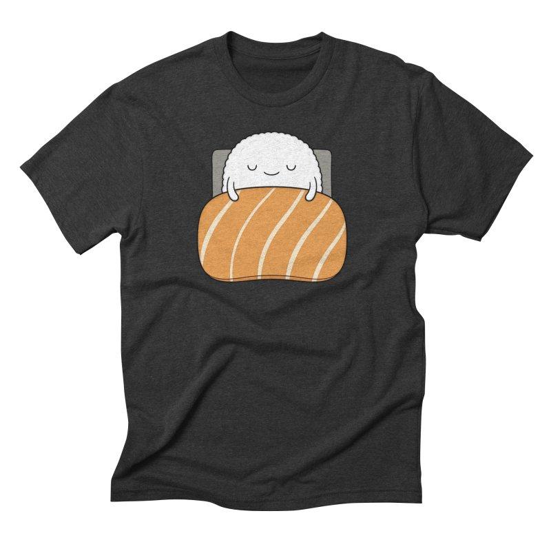 Sleepy Sushi Men's Triblend T-shirt by Kim Vervuurt