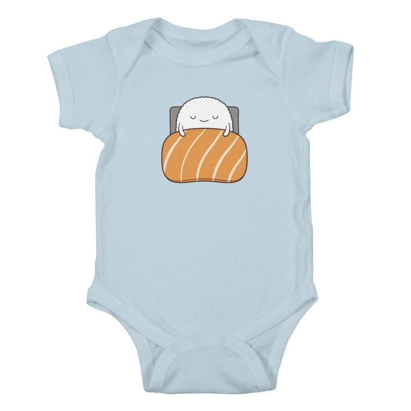 Sleepy Sushi Kids Baby Bodysuit by Kim Vervuurt
