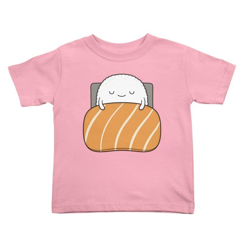 Sleepy Sushi Kids Toddler T-Shirt by Kim Vervuurt