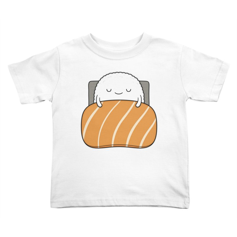 Sleepy Sushi Kids Toddler T-Shirt by Kim Vervuurt