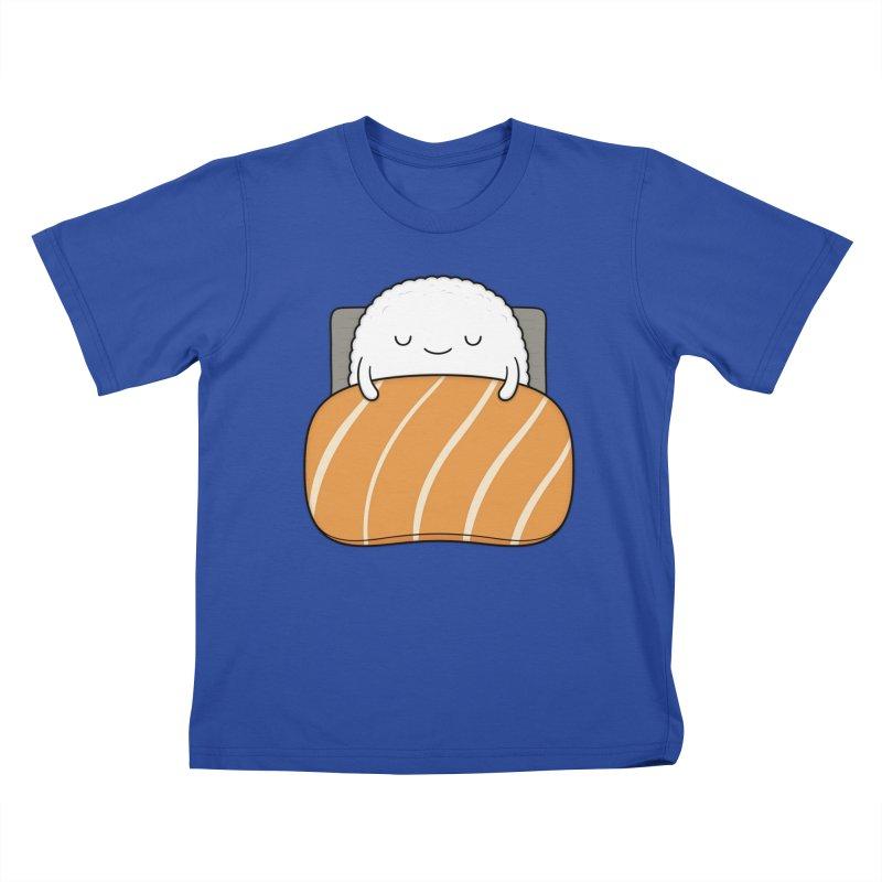 Sleepy Sushi Kids T-Shirt by Kim Vervuurt