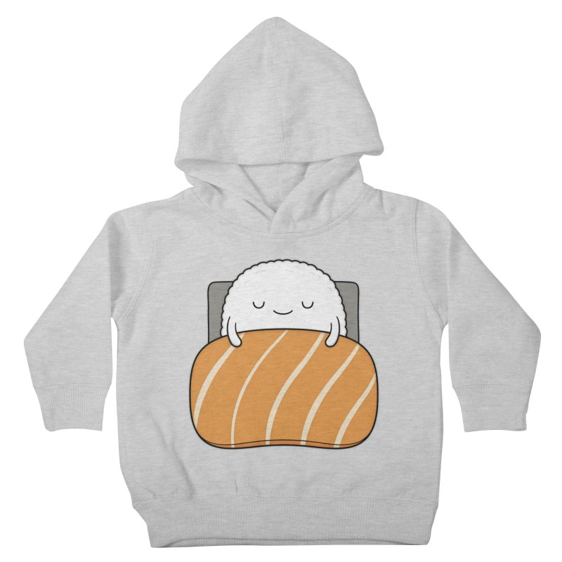 Sleepy Sushi Kids Toddler Pullover Hoody by Kim Vervuurt