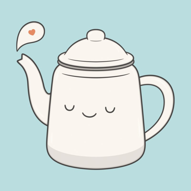 Teapot Men's Tank by Kim Vervuurt