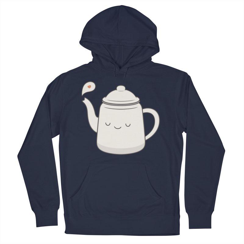 Teapot Men's Pullover Hoody by Kim Vervuurt