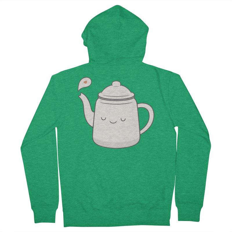 Teapot Women's Zip-Up Hoody by Kim Vervuurt