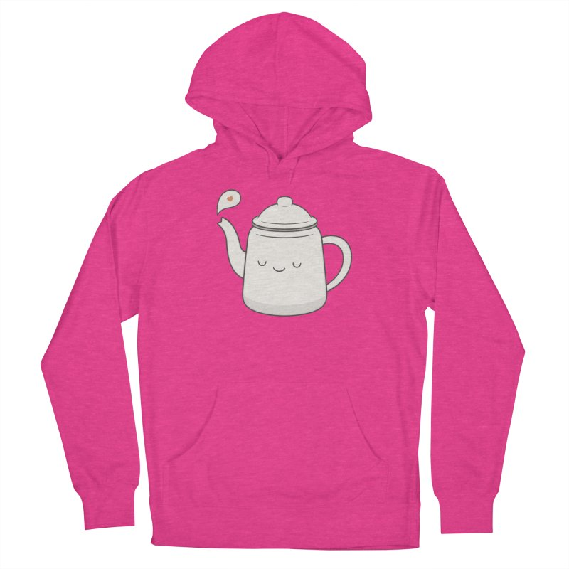 Teapot Women's French Terry Pullover Hoody by Kim Vervuurt