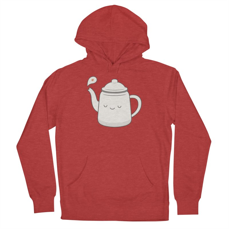 Teapot Men's French Terry Pullover Hoody by Kim Vervuurt
