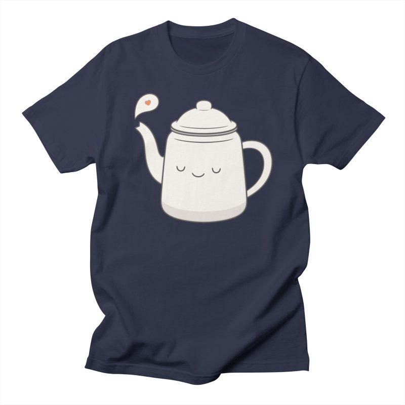 Teapot Men's T-Shirt by Kim Vervuurt