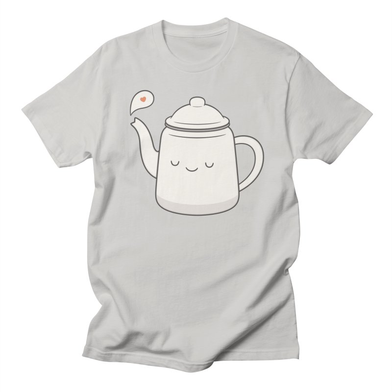 Teapot Men's T-Shirt by Kim Vervuurt