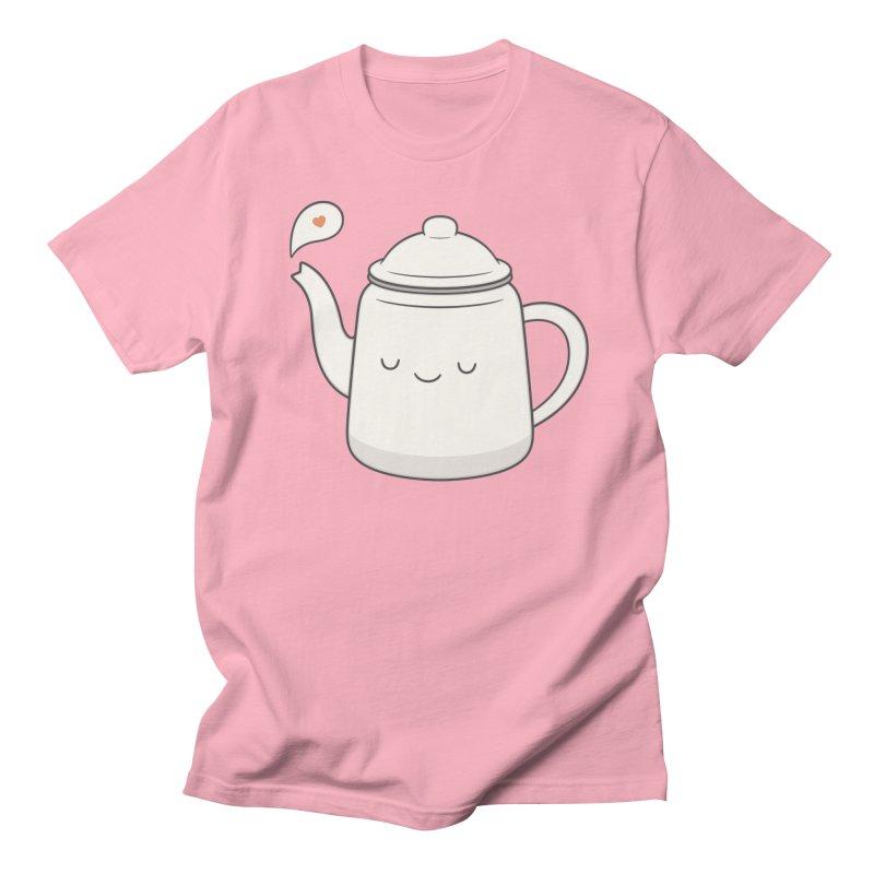 Teapot Men's Regular T-Shirt by Kim Vervuurt
