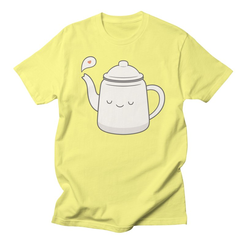Teapot Men's Regular T-Shirt by Kim Vervuurt