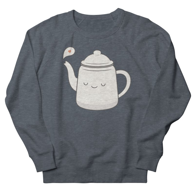 Teapot Men's Sweatshirt by Kim Vervuurt