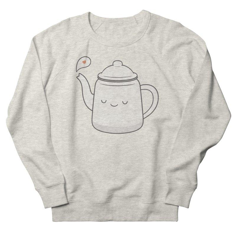 Teapot Men's French Terry Sweatshirt by Kim Vervuurt