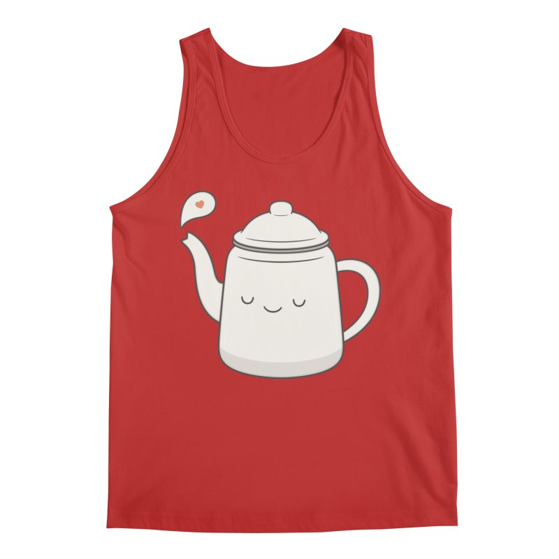 Teapot Men's Regular Tank by Kim Vervuurt