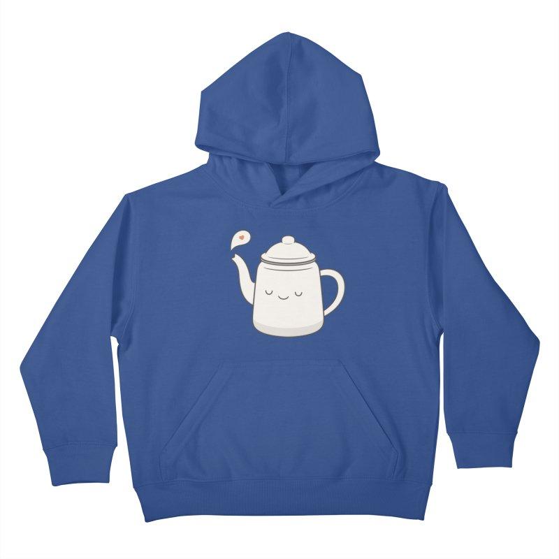 Teapot Kids Pullover Hoody by Kim Vervuurt