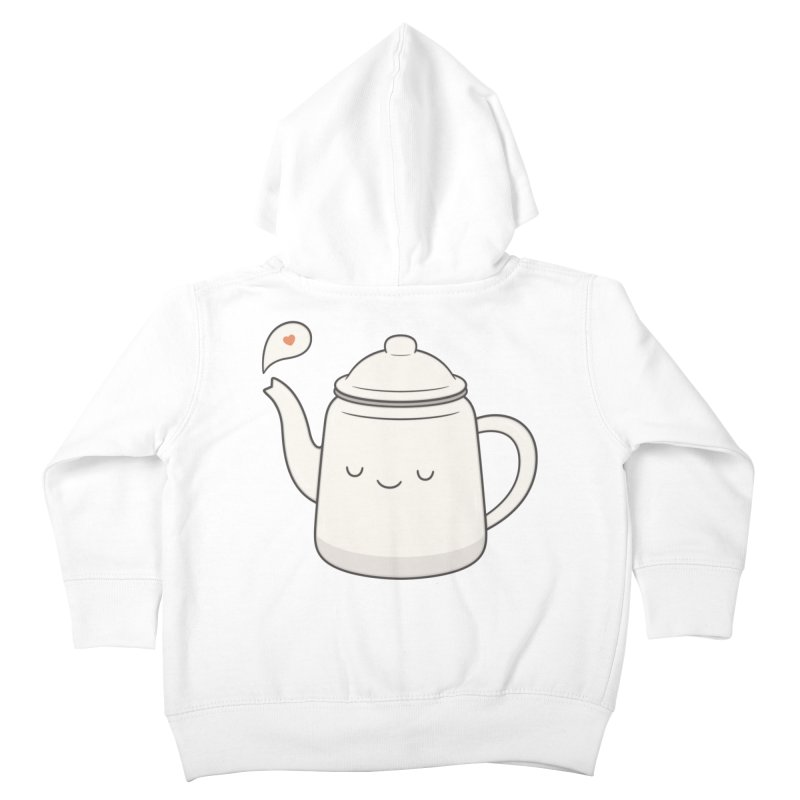 Teapot Kids Toddler Zip-Up Hoody by Kim Vervuurt