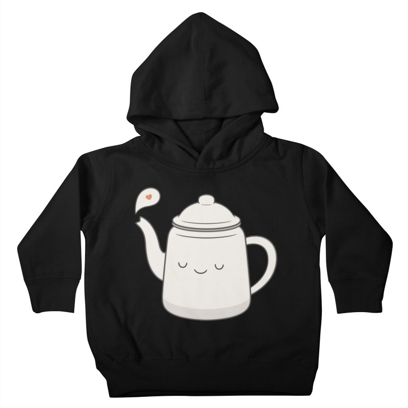 Teapot Kids Toddler Pullover Hoody by Kim Vervuurt