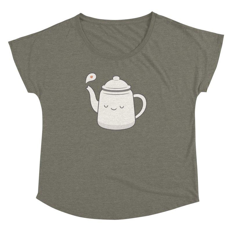 Teapot Women's Dolman by Kim Vervuurt