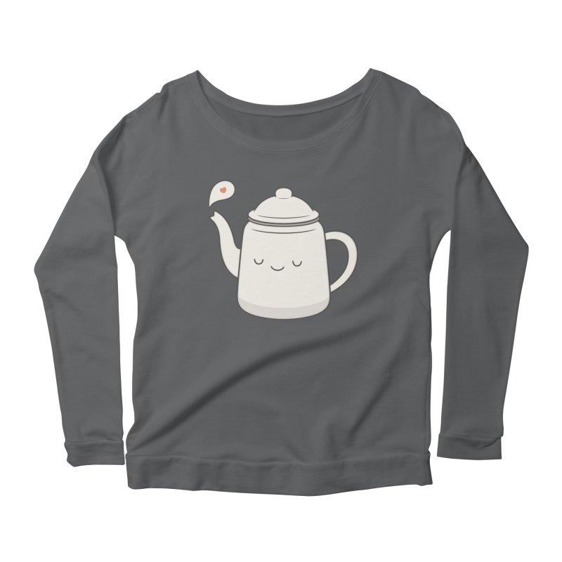 Teapot Women's Longsleeve T-Shirt by Kim Vervuurt