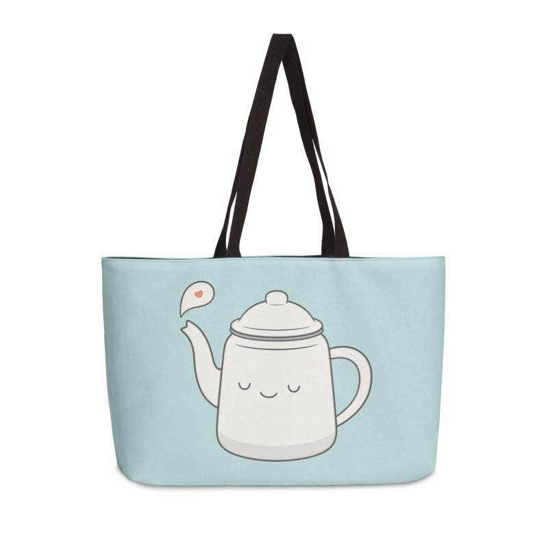 Teapot Accessories Weekender Bag Bag by Kim Vervuurt