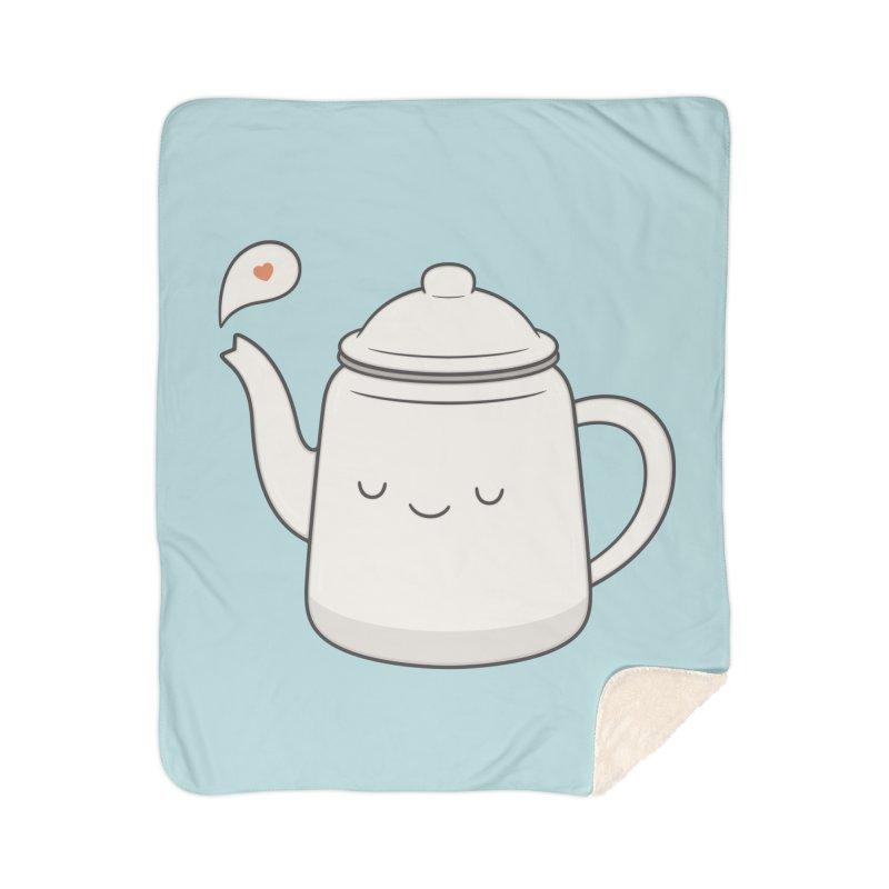 Teapot Home Blanket by Kim Vervuurt