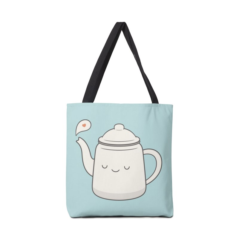 Teapot Accessories Tote Bag Bag by Kim Vervuurt