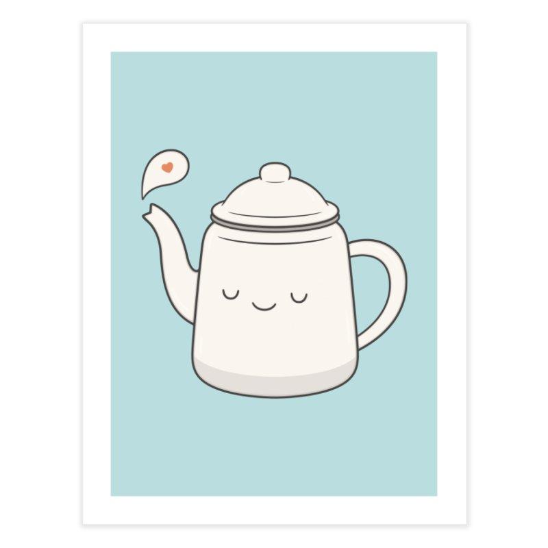 Teapot Home Fine Art Print by Kim Vervuurt