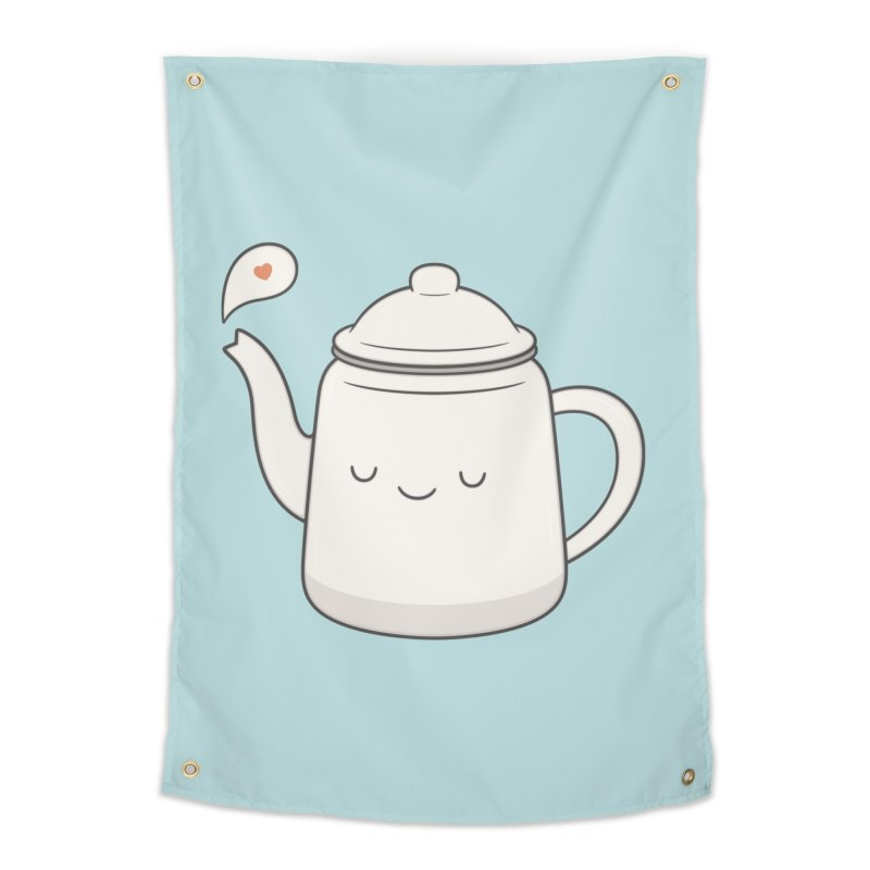 Teapot Home Tapestry by Kim Vervuurt