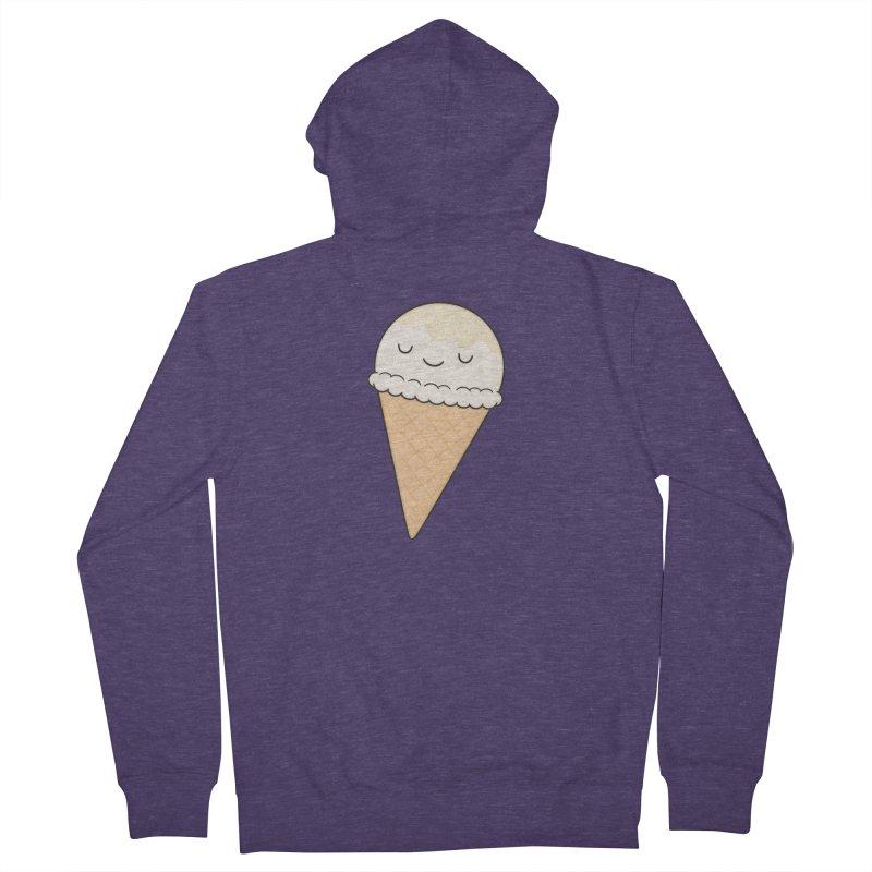 Ice Cream Men's Zip-Up Hoody by Kim Vervuurt