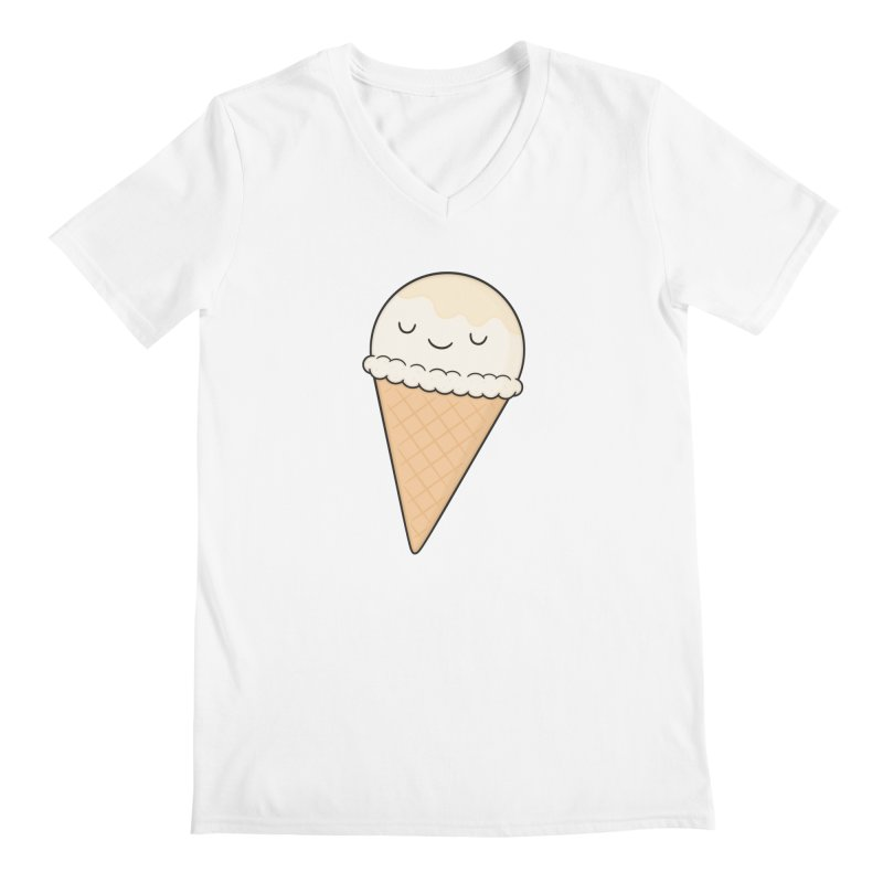 Ice Cream Men's V-Neck by Kim Vervuurt