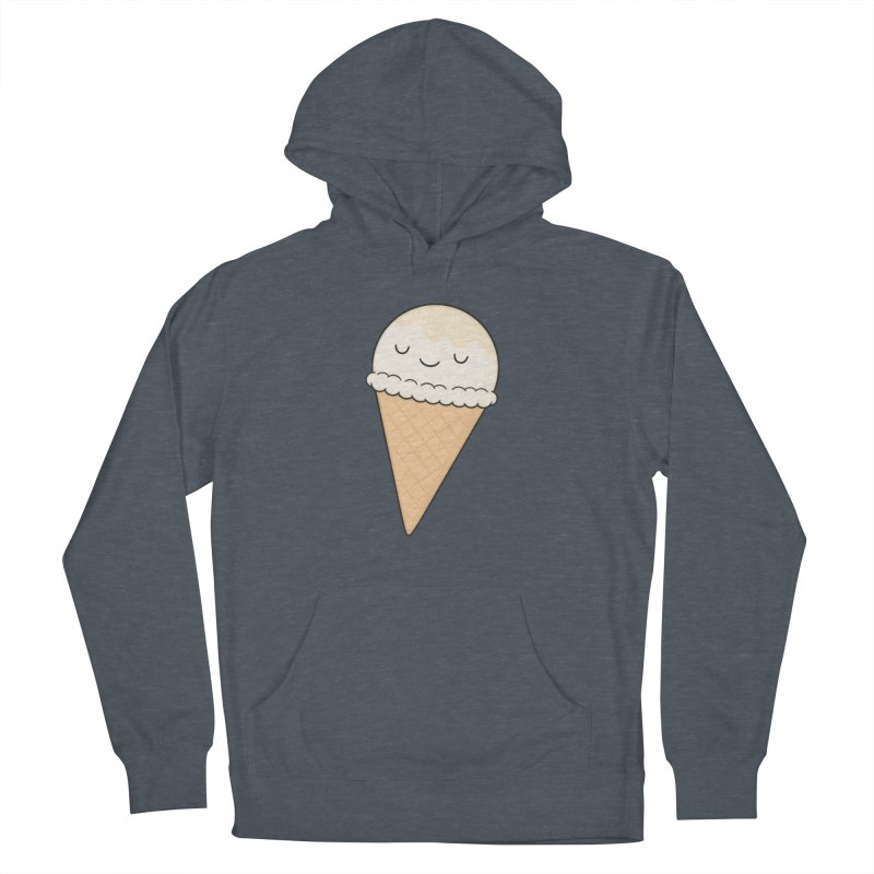Ice Cream Women's French Terry Pullover Hoody by Kim Vervuurt