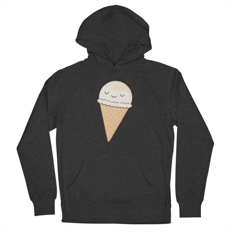 Ice Cream Men's French Terry Pullover Hoody by Kim Vervuurt
